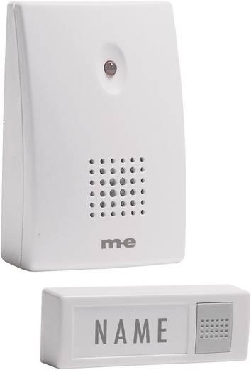 Vezeték nélküli csengő, elemes, 50 m, 434 MHz, fehér