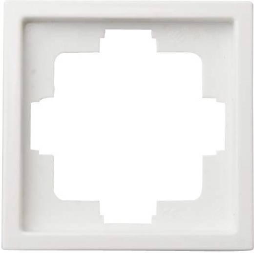 Kapcsoló keret, 1 részes, fehér GAO 3513 Starline