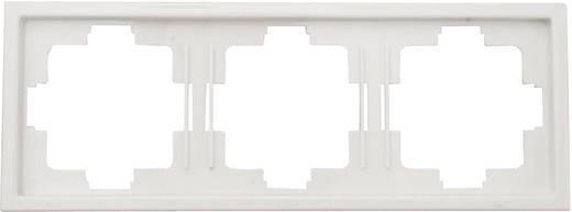Kapcsoló keret, 3 részes kapcsolóhoz, fehér GAO 3515 Starline