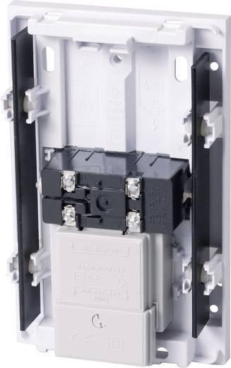 Vezetékes csengő, gong, 230 V 82 dBA, fehér, Heidemann 70012