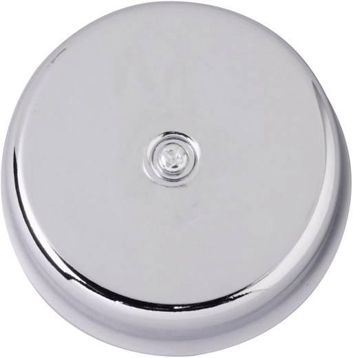 Vezetékes csengő, gong, 8V/AC, 82 dBA, króm, Heidemann 70036