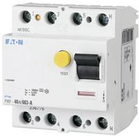 Eaton 236772 Hibaáram védőkapcsoló A 4 pólusú 25 A 0.03 A 400 V Eaton
