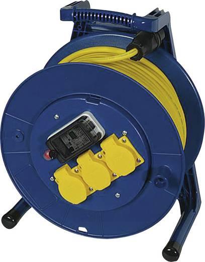 Kábeldob 40 m, IP54, kék/sárga, fogyasztásmérővel, 3 részes, H07RN-F 3 G 1,5 mm², 230V, Jumbo 266.653.1405.06