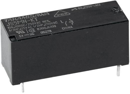 Nyák relé 5 V/DC 10 A 1 váltó Fujitsu JS-05N-K 1 db