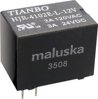 Tianbo Electronics HJR-4102-L-12VDC-S-Z Nyák relé 12 V/DC 5 A 1 váltó 1 db Tianbo Electronics