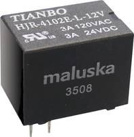 Tianbo Electronics HJR4102E-L-12VDC-S-Z Nyák relé 12 V/DC 5 A 1 váltó 1 db Tianbo Electronics
