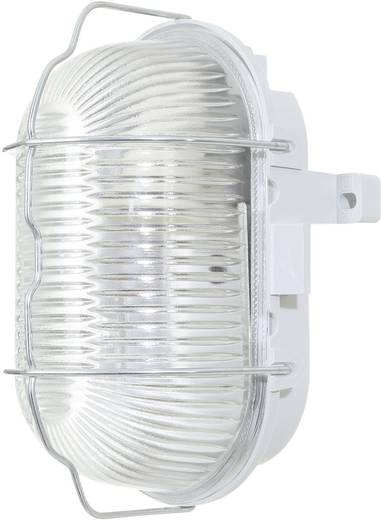 Vízhatlan lámpatest, ovális, E27, max. 60 W, 230 V, IP44, szürke, 6909