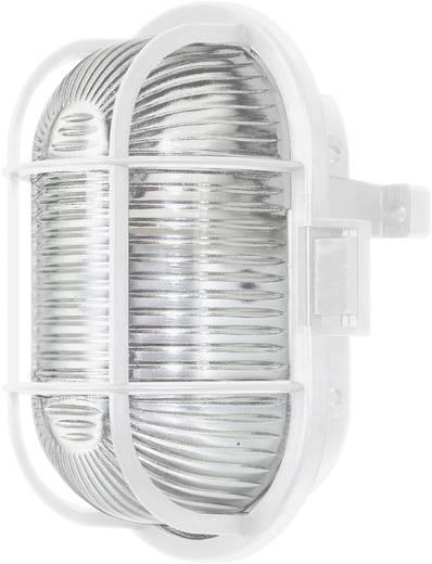 Vízhatlan lámpatest, ovális, E27, max. 60 W, 230 V, IP44, fehér, 52-1005-005
