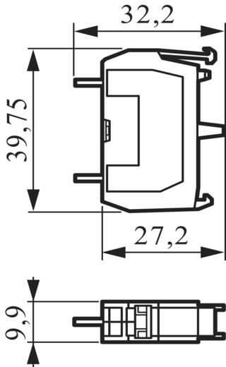 Érintkező elem 600V 10 A, csavaros, BACO 33P01
