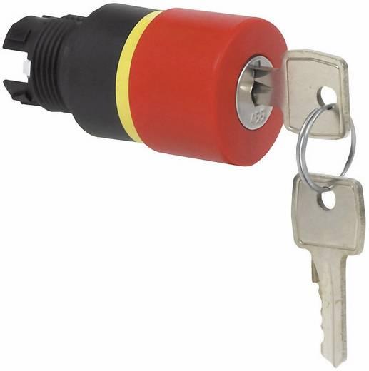Kulcsos kapcsoló gomba fejű nyomógombhoz, 32 mm, piros, BACO L22GQ01 223890