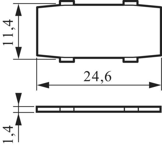 Címkéző tábla 22 mm, BACO LIA1