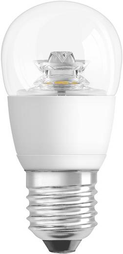 LED 123 mm Osram, dimmelhető, 230 V E27 6 W = 40 W Csepp forma, tartalom: 1 db