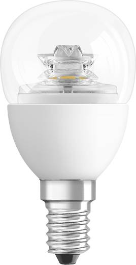LED 82 mm Osram, dimmelhető, 230 V E14 3.8 W = 25 W Csepp forma, tartalom: 1 db