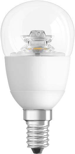 LED 89 mm Osram 230 V E14 6 W = 40 W Csepp forma, tartalom: 1 db, 4052899911963