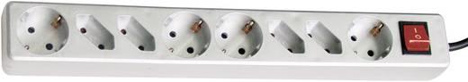 Kapcsolós elosztó világítós 8 részes 4/4 titán 3m GAO