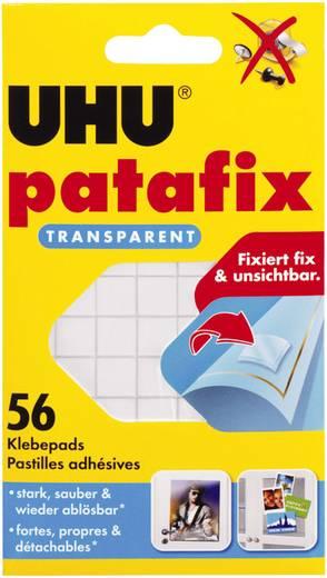 Ragasztó lapok, UHU patafix, átlátszó, tartalom: 56 db