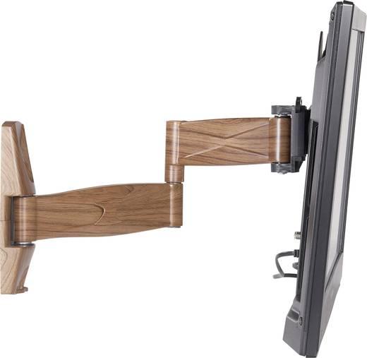 """TV fali tartó konzol, forgatható, dönthető, mahagóni színű 58 cm - 107 cm (23"""" - 42"""") SpeaKa Professional 631820"""