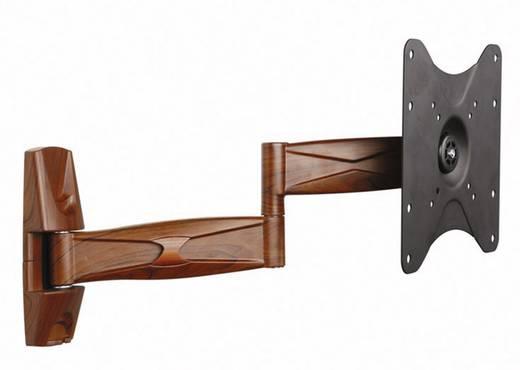 """TV fali tartó konzol, forgatható, dönthető, mahagóni színű 58 cm - 107 cm (23"""" - 42"""") SpeaKa Professional 6318"""