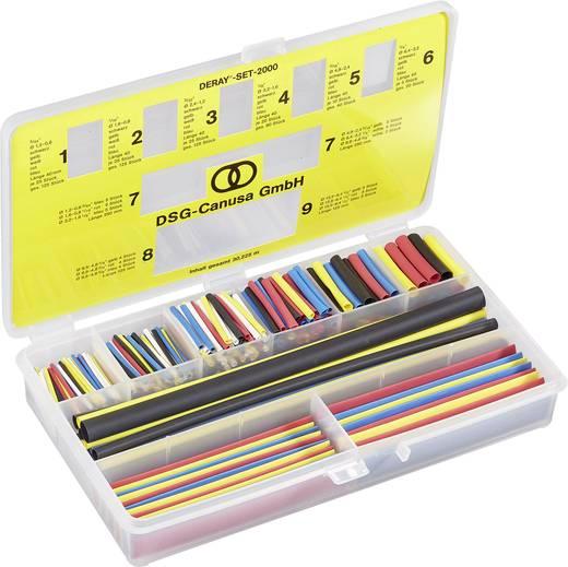 DERAY® zsugorcső készlet 2000 - 2:1, színes