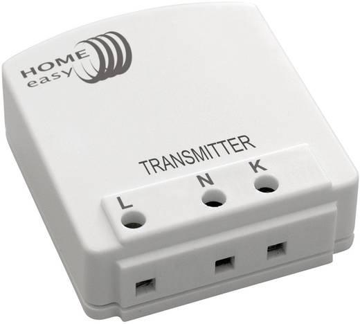 Fali kapcsoló mögé szerelhető vezeték nélküli adó 433 MHz, ELRO Home Easy HE887