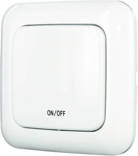 Vezeték nélküli fali kapcsoló 433 MHz max. 50 m, ELRO Home Easy HE882