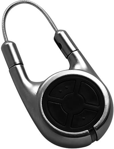 2 nyomógombos kulcstartós távirányító 868 MHz, 30 m, Kaiser Nienhaus 350180