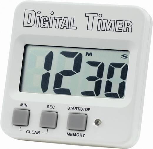 Nagy kijelzős digitális visszaszámláló óra, időzítő, 62x60x15 mm