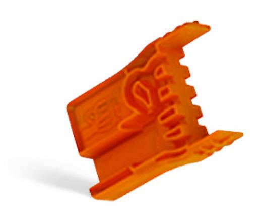 Vezetékezés segítő, narancs, WAGO 770-100
