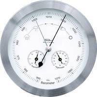 Analóg időjárásjelző állomás, rozsdamentes acél, Fischer 53417 Fischer Wetter