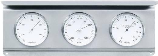 Analóg időjárásjelző állomás, rozsdamentes acél, Fischer 53977