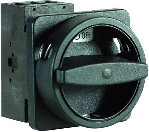 Terhelés leválasztó kapcsoló, 25 A 1 x 90 ° fekete Sälzer H220-41300-033N1 1 db