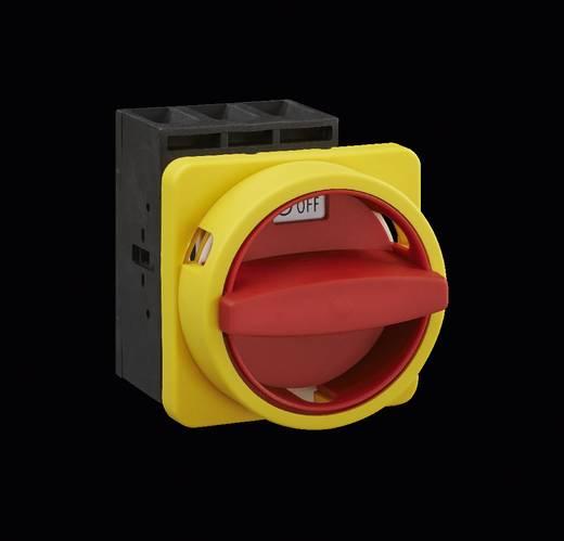 Terhelés leválasztó kapcsoló, 63 A 1 x 90 ° sárga, piros Sälzer B263-41300-033N4 1 db