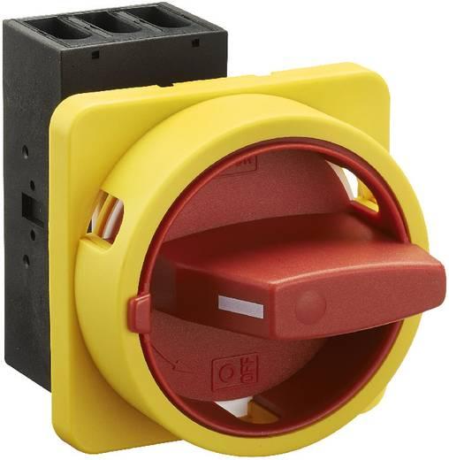 Terhelés leválasztó kapcsoló, 25 A 1 x 90 ° sárga, piros Sälzer H220-41300-033M4 1 db