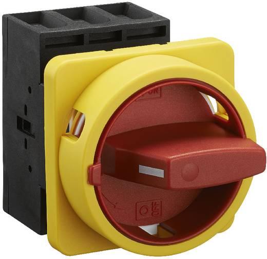 Terhelés leválasztó kapcsoló, 63 A 1 x 90 ° sárga, piros Sälzer B263-41300-033M4 1 db