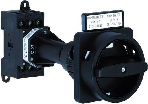 Terhelés leválasztó kapcsoló, 25 A 1 x 90 ° fekete Sälzer H220-41300-281N1 1 db