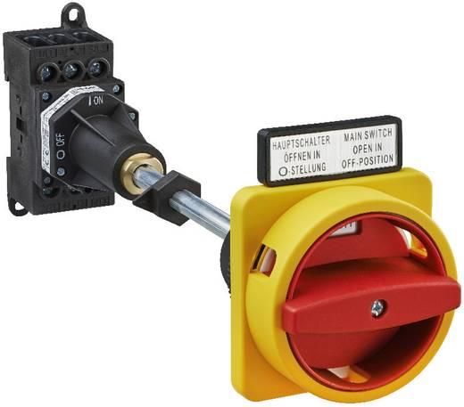 Terhelés leválasztó kapcsoló, 25 A 1 x 90 ° sárga, piros Sälzer H220-41300-281N4 1 db