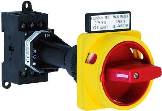 Terhelés leválasztó kapcsoló, 25 A 1 x 90 ° sárga, piros Sälzer H220-41300-281M4 1 db