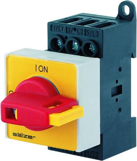 Terhelés leválasztó kapcsoló, 40 A 1 x 90 ° sárga, piros Sälzer H233-41300-026V4 1 db