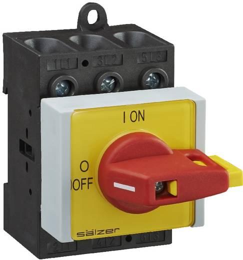 Terhelés leválasztó kapcsoló, 63 A 1 x 90 ° sárga, piros Sälzer B263-41300-026V4 1 db