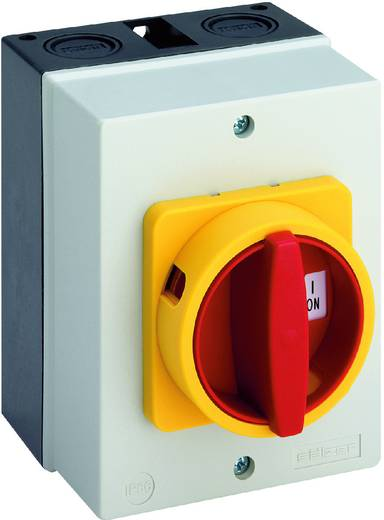 Terhelés leválasztó kapcsoló, 25 A 1 x 90 ° sárga, piros Sälzer H220-41300-700N4 1 db