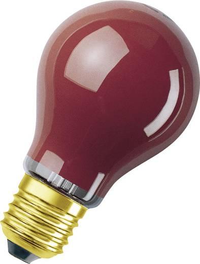 Speciális izzó fényfüzérekhez, E27, 11 W, piros, izzólámpa forma, Osram 4008321545824