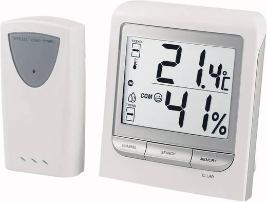 Vezeték nélküli külső-belső digitális hőmérő és páratartalom mérő, Conrad TM005X