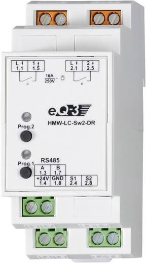 RS485 kapcsoló aktor 2 csatornás, HomeMatic