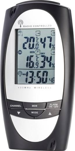 Vezeték nélküli USB-s, digitális profi időjárásjelző állomás, CONRAD TE857
