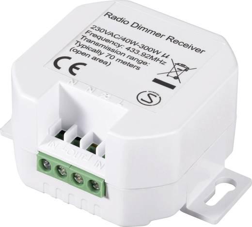 Vezeték nélküli dimmer (vevő) 1 csatornás, 40-300 W, max.70m, RSLRD2