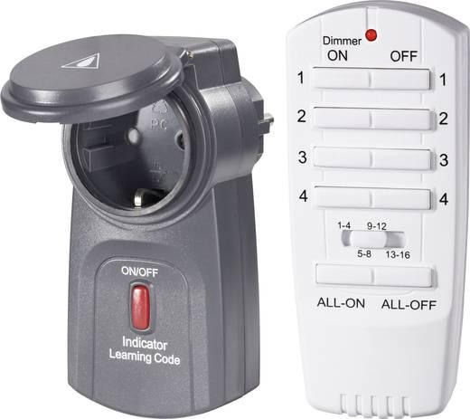 Vezeték nélküli kültéri konnektoros kapcsoló készlet, 2 részes, max. 70 m, RSL