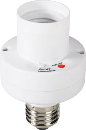 Vezeték nélküli lámpafoglalatba tekerhető vevő, 1 csatornás, E27, 100W, max. 25m, RSLR2