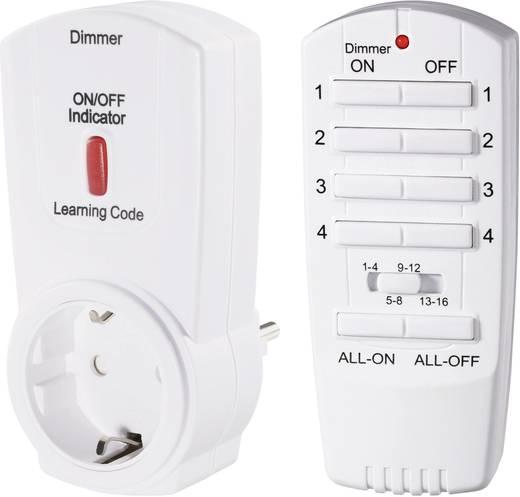 Vezeték nélküli konnektoros kapcsoló készlet, dimmerelhető, 2 részes, max. 70m, RSL