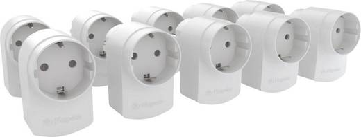 Energiafogyasztás mérő készlet, 10 részes, köztes dugó, hatótáv max. (szabad területen) 200 m, Home Extension