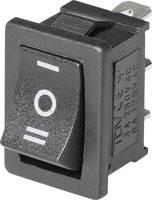 Mini billenőkapcsoló, 1 x ÁT, középállás